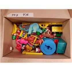Lot of Vintage Childrens Toys