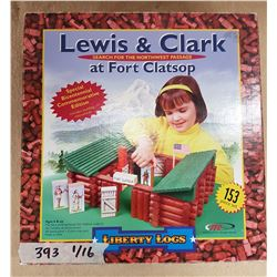 Lewis & Clarke Vintage Toy Liberty Logs