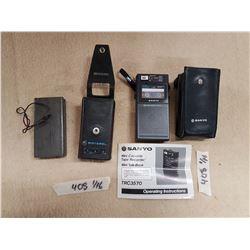 Tape Recorder & Motorola Antenna