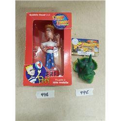 Bobble Head Doll & Finger Puppet Toys