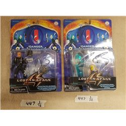 Lot - 2 Lost in Space Figurines