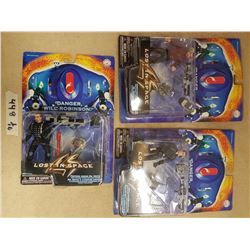 Lot - 3 Lost in Space Figurines