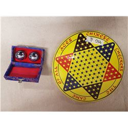 Chinese Checkers & Chiming Balls