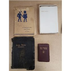 Lot Bibles & Religious Books