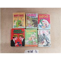 Lot of Vintage Comic Books & Lassie