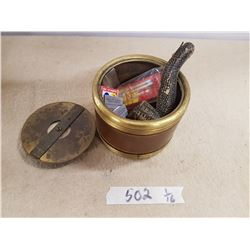 Lot Container & Smoking Related Items