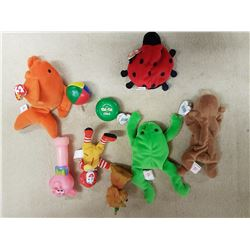 Lot of Stuffed Toys (some TY) & Misc.