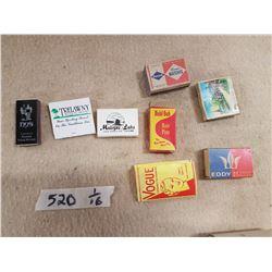 Metal Matchbox & Matches