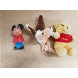 Lot Mickey Mouse (TY) Stuffed Animal