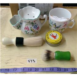 Mens Shaving Products - Mustache Cups & Brushes, Etc.