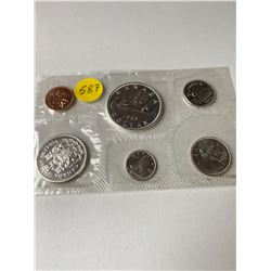 1963 Canada Numismatic proof like set