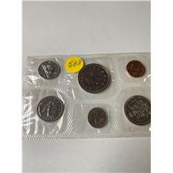 1977 Canada numismatic proof like set
