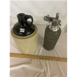 Spritzer Bottle and 1 Gallon Whiskey Jug