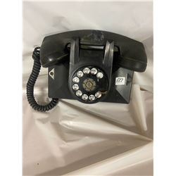 Vintage Black Dial Telephone