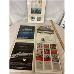 5 Auto Advertising Pc. - Laminated