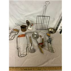 Large Lot of Kitchenware Items Vintage