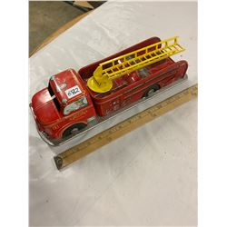 Toy Friction Fire Truck