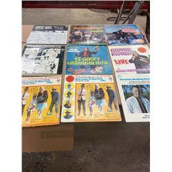Lot of 9 Ukrainian  Comedy Records