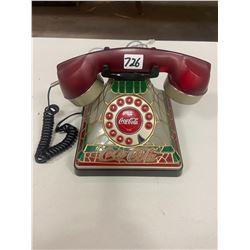 Coca Cola Stained Glass Look Phone - Working