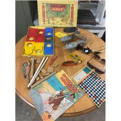 Lot of Childrens' Toys, Roller Skates, Sunglasses