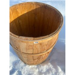 """wooden barrel 30""""t"""