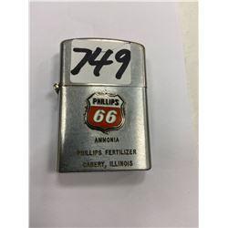 phillips 66 advertising lighter