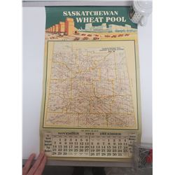 1948 Saskatchewan Wheat Pool calendar