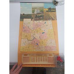 1973 Saskatchewan Wheat Pool calendar