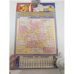 1956 Saskatchewan Wheat Pool calendar