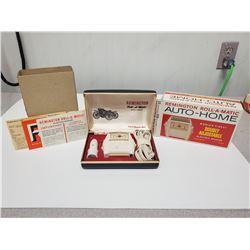 vintage Remington Roll-A-Matic vintage electric razor (original packaging)