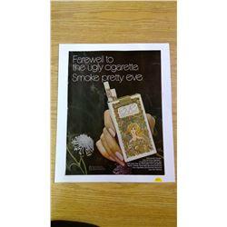 Eve Filter Cigarettes Advertisement