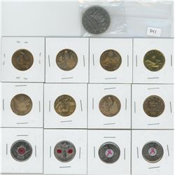 Lot of Special Loonies & Quarters - see details