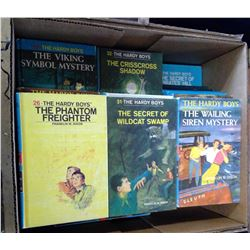 Lot of Vintage Hardy Boys Novels - Hardcovers
