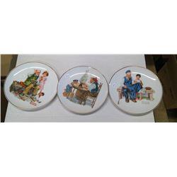 Decorative Plates - 3 small