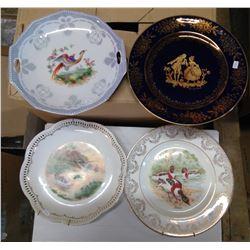Decorative Plates - 4 large