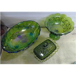 Lot of Glassware - Serving Dishes