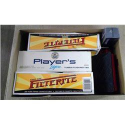 Lot of Smoking Supplies - Tube Roller & 3 Pkgs Tubes