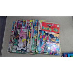 Lot of Archie Comic Books - Worn