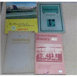 Lot of Sask. History Books