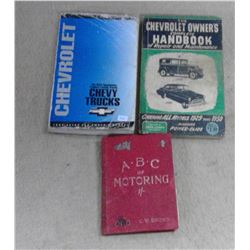 1950's Chev Handbook, ABC of Motoring, Chev Manual