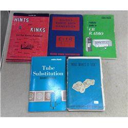 Lot of Radio & Automotive Books
