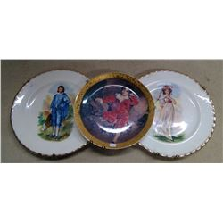 Lot of 3 Decorative Plates