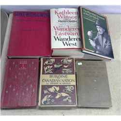Lot of Old Books - some Historical - Hardcover