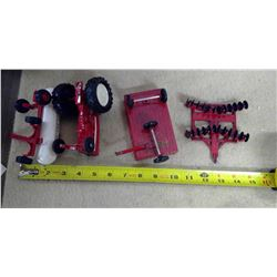 Lot of Toy Tractor & Implements