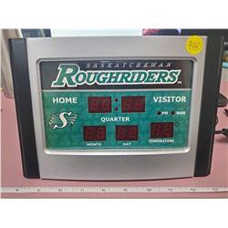 Saskatchewan Roughriders alarm clock