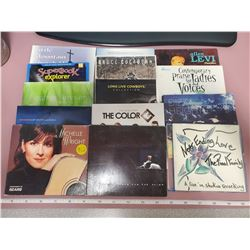 15 CD's soft cases