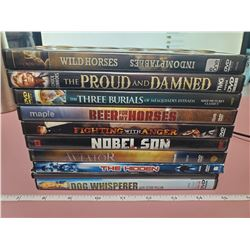 10 DVD's (Western/Action)