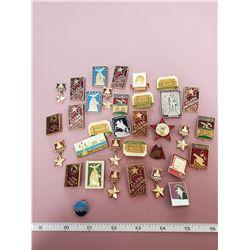 25 Russian pins