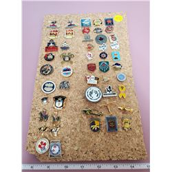 50 Police/Military pins