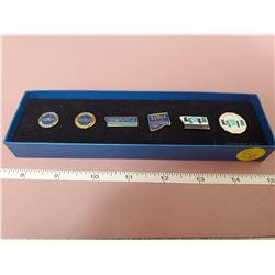 6 piece pin set Korean Inventory